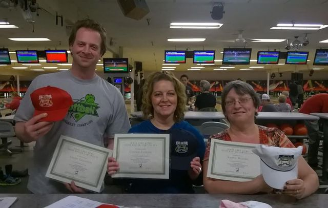 friends enjoying one of our bowling centers in Anchorage, AK