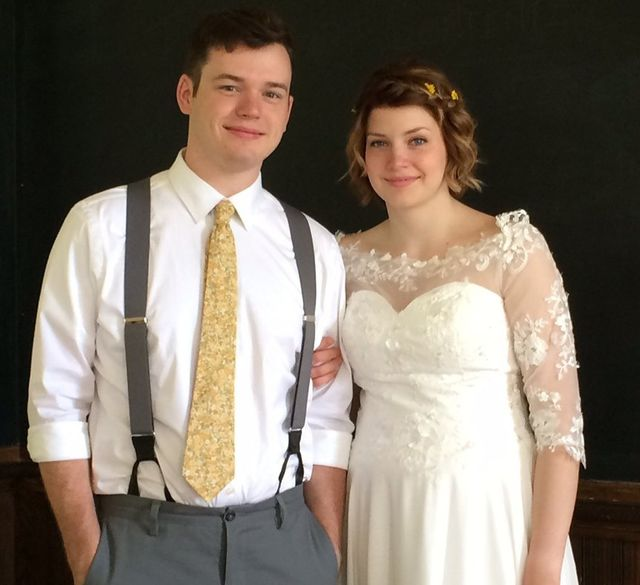Bride and Groom enjoy catering service in Amelia, OH and the Tri-State Area