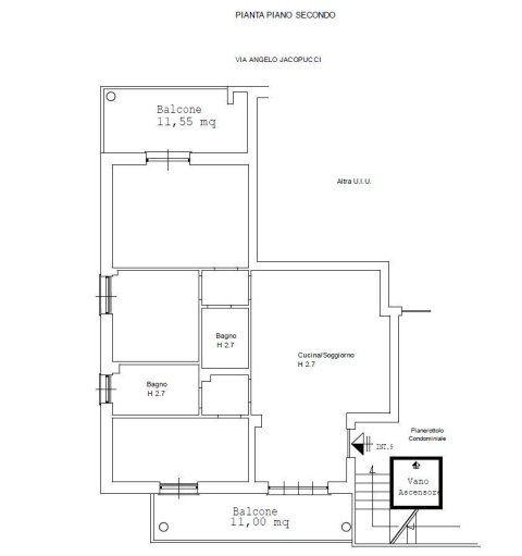 progetto pianta piano secondo-interno 9