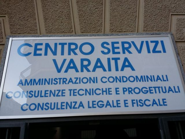 Insegna Centro Servizi  Varaita