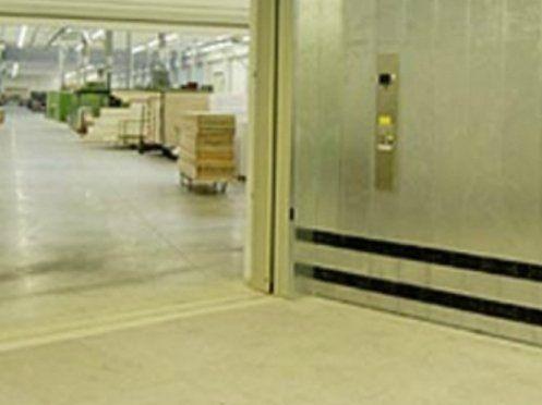 ingresso di un magazzino