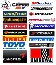 Wheel alignment - Northern Ireland - Murray Tyres Ltd - logos