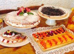 dessert, torta, torte farcite
