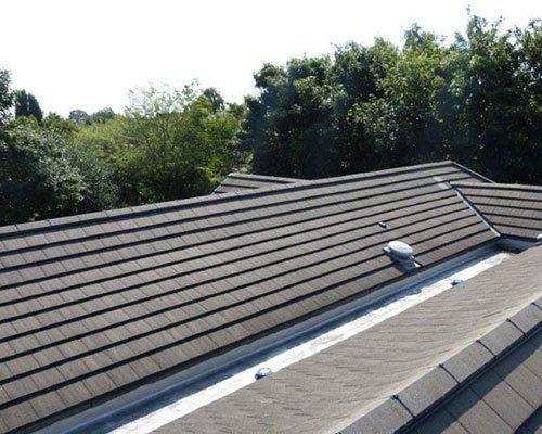 slanting roof