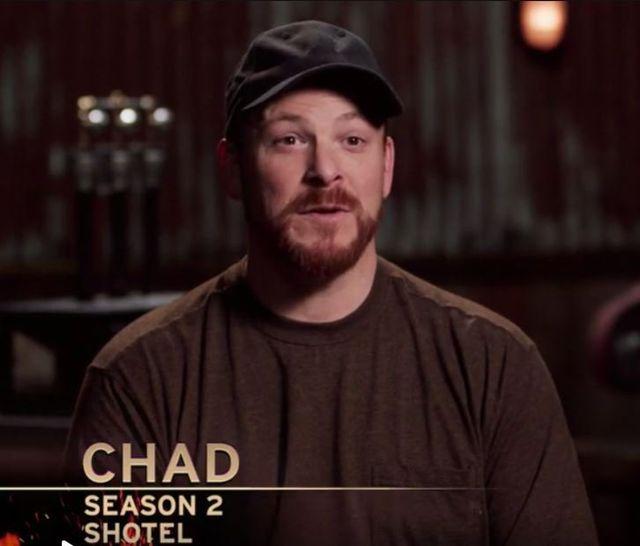 Chad Osborne--operator of Osborne Forge