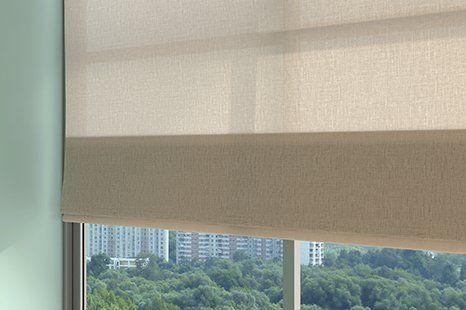 Elegant Roman blinds