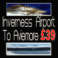Inverness Airport to Aviemore £39