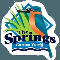 The Spring Garden World logo