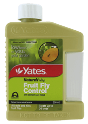 Yates fruit fly control