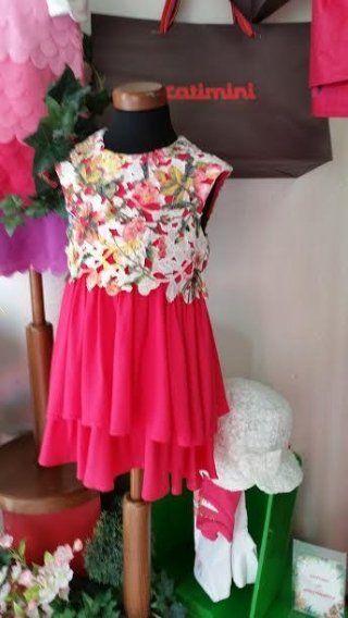 vestito lungo elegante per bambina