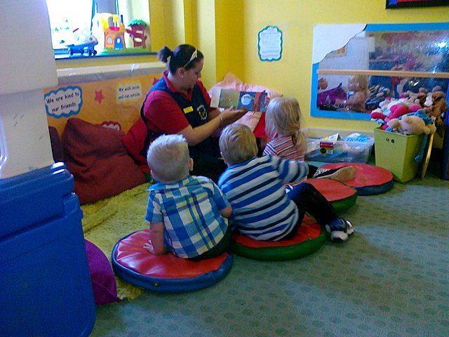 Pre-school - Mansfield, Nottinghamshire - Shaping Futures Ltd - at the class