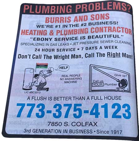 Plumbing maintenane