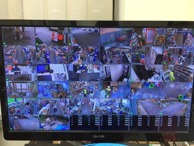CCTV system installation