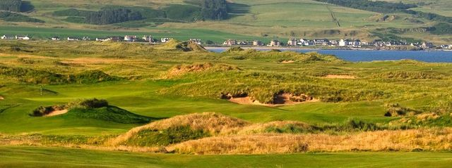 Golf links in Kintyre
