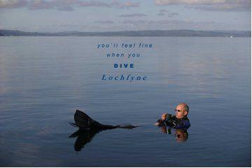 A relaxing tea break in the tranquil waters of Loch Fyne