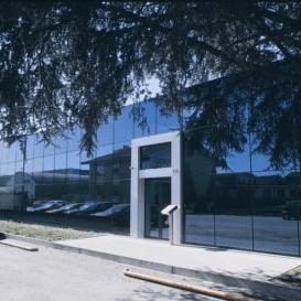 L'ingresso di 3T - Trattamenti Termici Torino a Rivoli (TO)