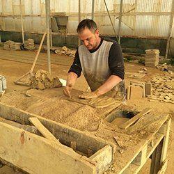 Produzione dei mattoni artigianali ad Agrigento-arte Cotto