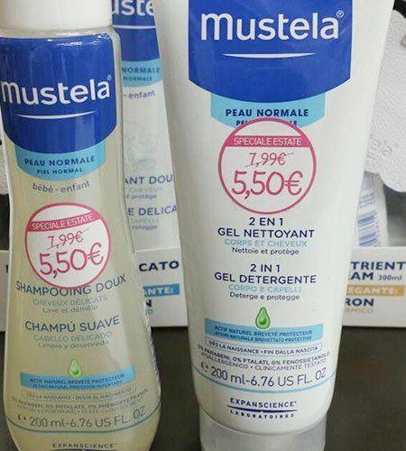 Prodotti di marca per l'igiene e la tutela del bambino