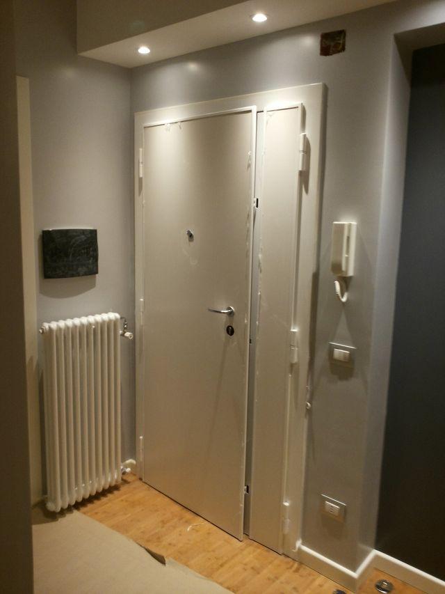Porta di camera di pvc  bianco