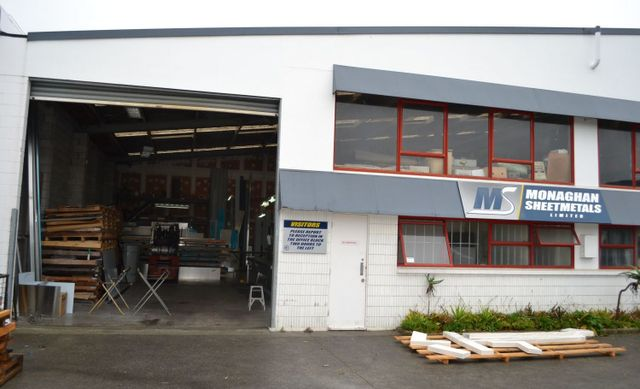 Sheet metal services performed in our Auckland factory
