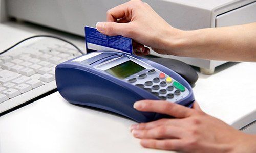 Payment with a credit card
