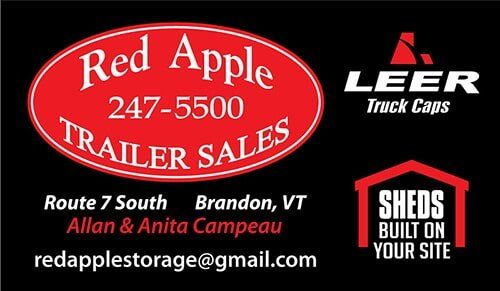Truck Caps | Brandon, VT | Red Apple Trailers Sales
