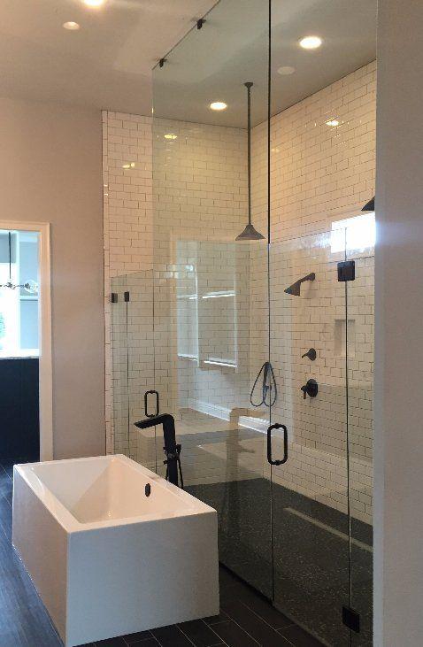 frameless shower door little rock