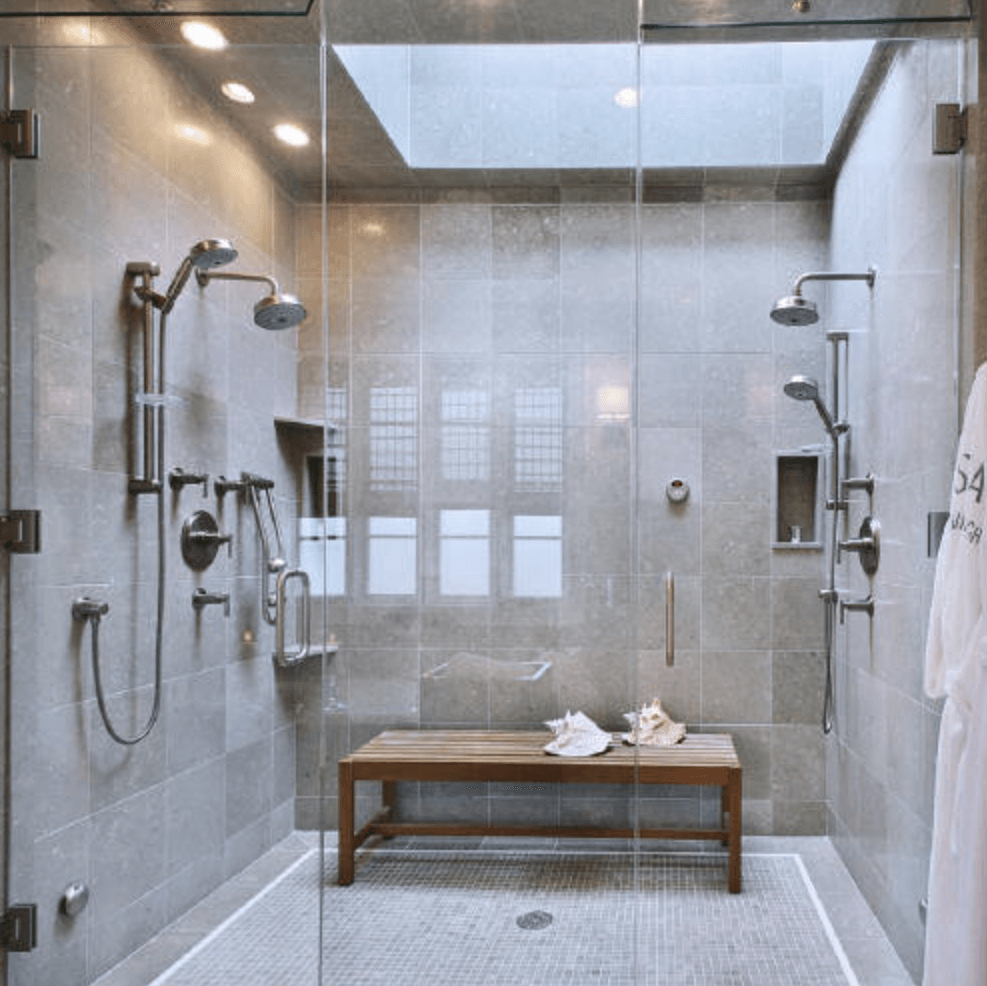 Double Transom Design Gl Shower Installation Enclosure Tips
