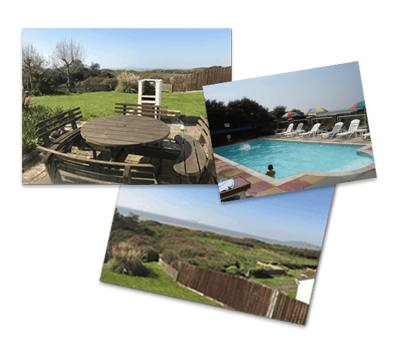 Beach House Holiday Cottage: Holiday cottage Brean, Somerset.