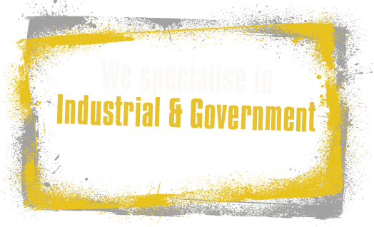 industrial and government sandblasting specialists