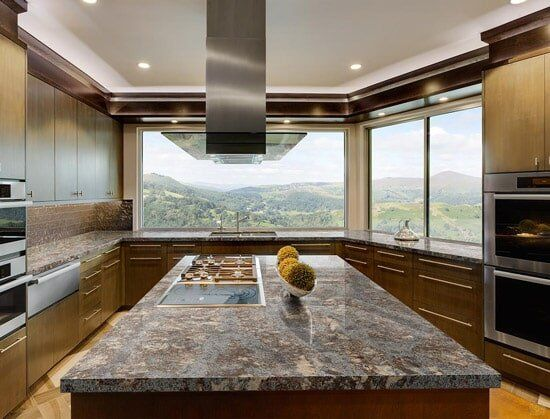 Marvelous Kitchen Remodeling And Design U2014 Center Island Of The Kitchen In Indianapolis,  IN