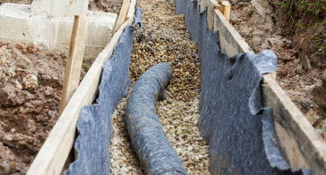 drainage pathway