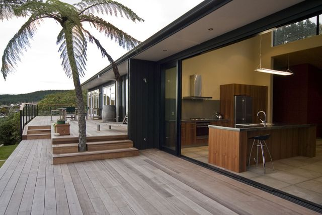 Patio built by Steve Fox Builders, a building company in Taupo