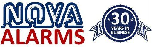 NOVA ALARMS logo