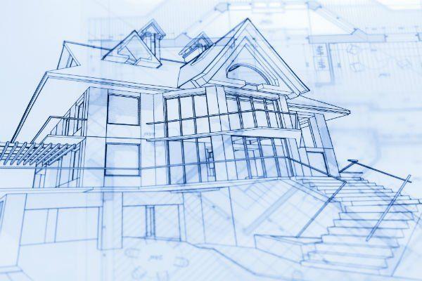 architettura schemi e disegno casa