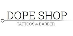 DOPE SHOP TATTOOS E BARBER-Logo