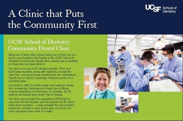 UCSF Dental Clinic Faculty