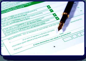 Accountants paperwork