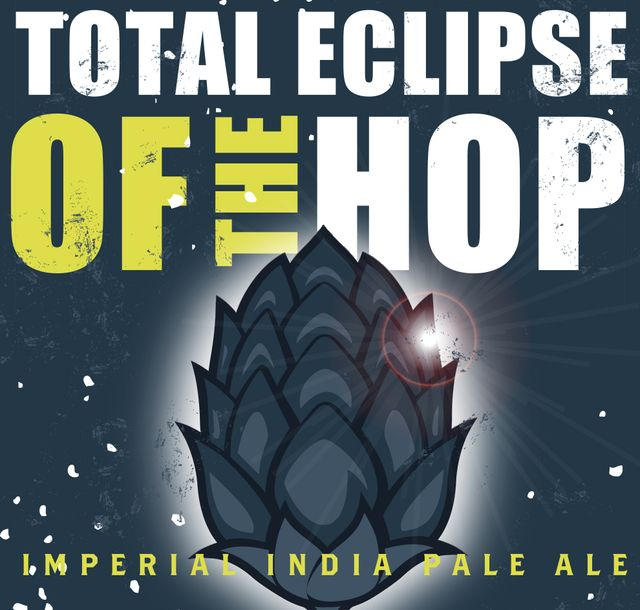 Total Eclipse of the Hop Beer Label