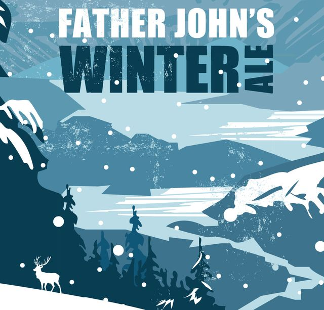 Father John's Winter Ale Beer Label