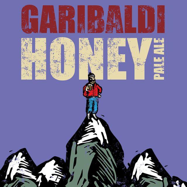 Garibaldi Honey Pale Ale Beer Label