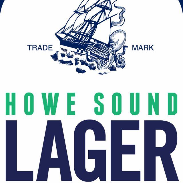 Howe Sound Lager Beer Label