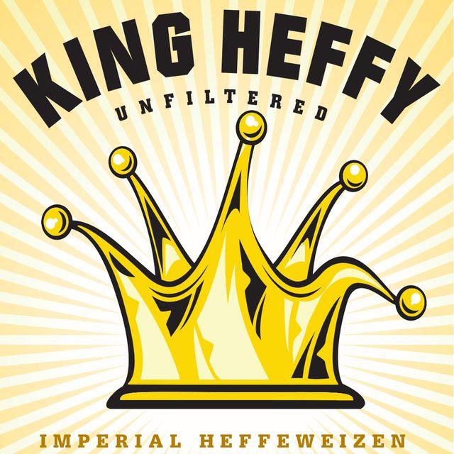 King Heffy Beer Label