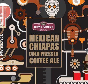 Mexican Chiapas Cold Pressed Coffee Ale