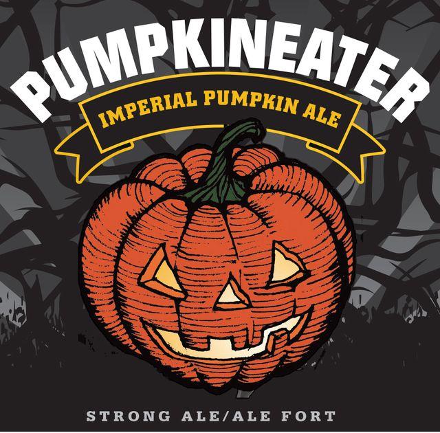 Pumpkineater Imperial Pumpkin Ale Beer Label