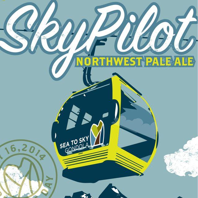 Sky Pilot Northwest Pale Ale Beer Label