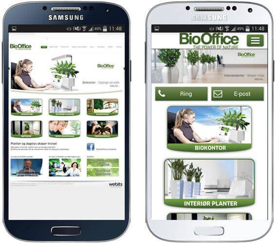 Biooffice-mobiltilpasset