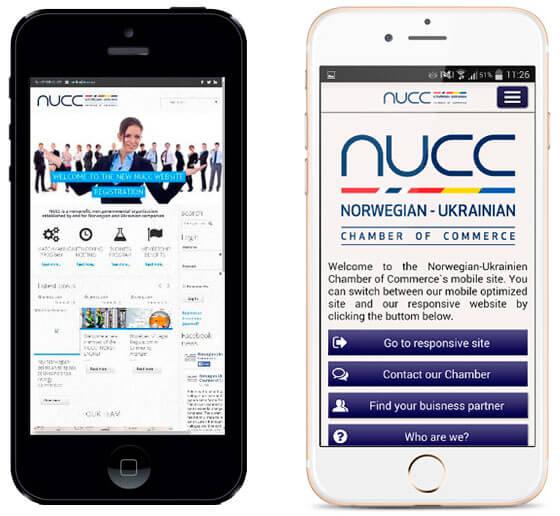 NUCC-mobiltilpasset
