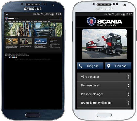 Scania-mobiltilpasset