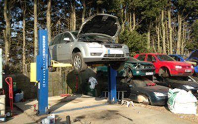 MOT failed car scrapping
